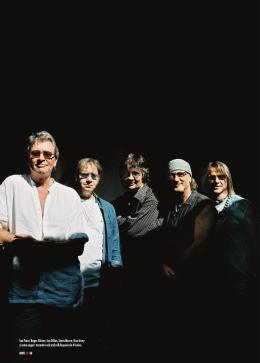 Ian Paice, Roger Glover, Ian Gillan, Steve Morse, Don Airey y como