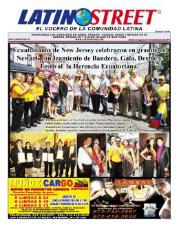 Ecuatorianos de New Jersey celebraron en grande