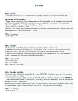 lista de opciones - V Congreso Invecom 2015