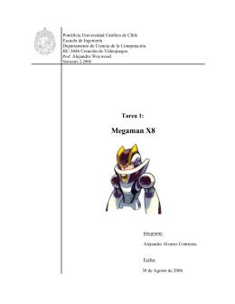Título: Megaman X8 - Pontificia Universidad Católica de Chile