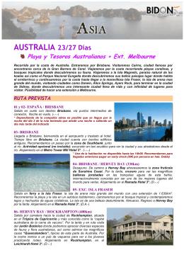 Playa y Tesoros Australianos + Ext. Melbourne