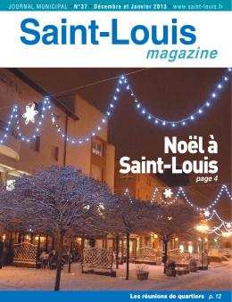 Saint-Louis magazine n° 37 en pdf