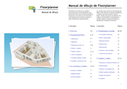 Floorplanner Manual de dibujo de Floorplanner