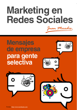 Marketing en Redes Sociales Portada: http://www