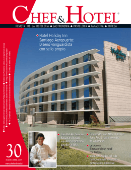 Hotel Holiday Inn Santiago Aeropuerto: Diseño