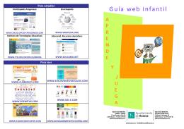 Páginas web para aprender y jugar