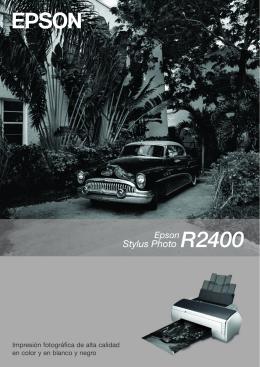 Impresión fotográfica de alta calidad en color y en blanco y negro