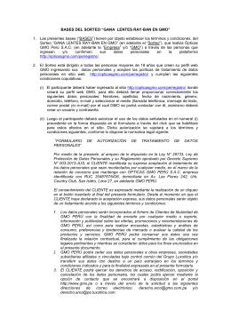 BASES CONCURSO - opticasgmo.com