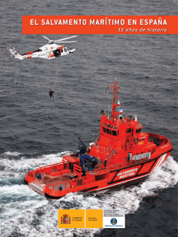 Libro 15 aniversario Salvamento Marítimo
