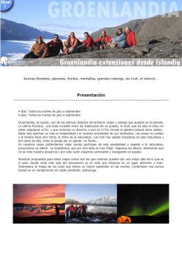 2012 Lo Mejor de Groenlandia desde islandia
