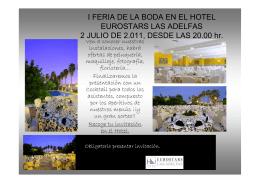 I FERIA DE LA BODA EN EL HOTEL EUROSTARS LAS ADELFAS 2