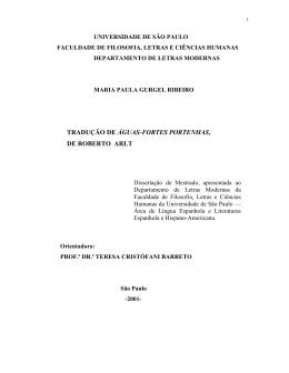 Tese Maria Paula - Biblioteca Digital de Teses e Dissertações da USP