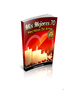 Untitled - Mis Mejores 70 Hechizos De Amor