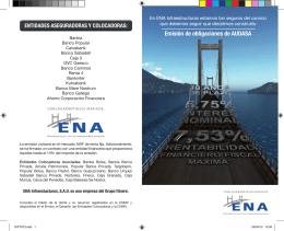Emisión de obligaciones de AUDASA