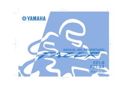 FZ1-S FZ1-SA - Fazer Hispania