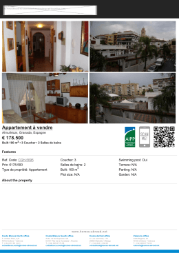 Appartement à vendre € 178.500 - Homes