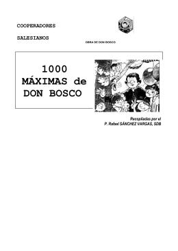 1000-maximas de don bosco - Centro María Auxiliadora