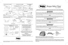 Silla Boppy® para bebé