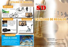 CATÁLOGO DE REGALOS