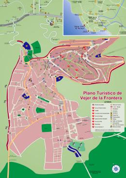Plano Turístico de Vejer de la Frontera