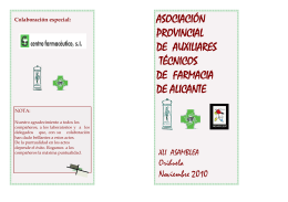 ASOCIACIÓN PROVINCIAL DE AUXILIARES