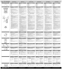 Quick Guide Wegweiser Guide rapide Guida rapida Guía