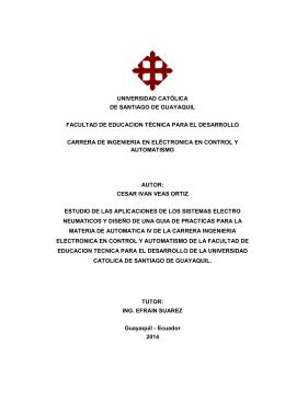 universidad católica de santiago de guayaquil facultad de
