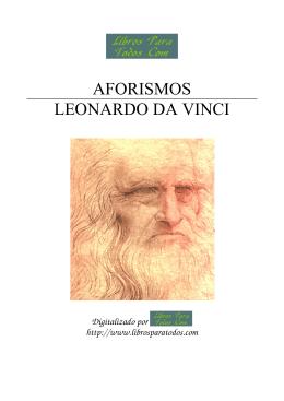 AFORISMOS LEONARDO DA VINCI
