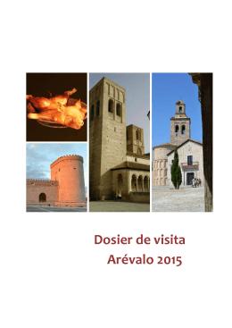 Dosier de visita Arévalo 2015