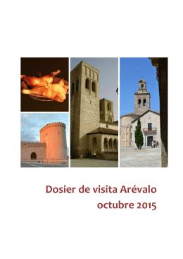 Dosier de visita Arévalo octubre 2015