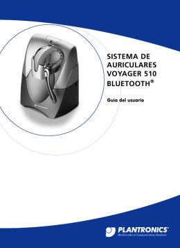 SISTEMA DE AURICULARES VOYAGER 510 BLUETOOTH®