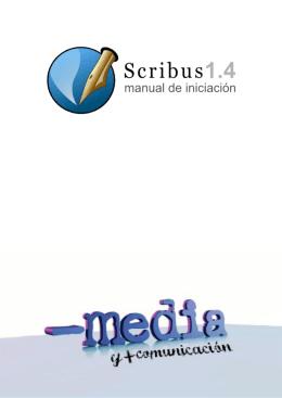 Scribus - MenosMedia