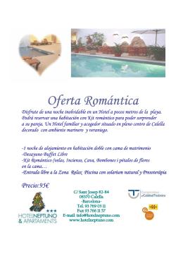 Oferta Romá Oferta Romántica