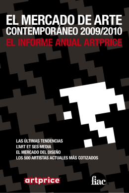 el mercado de arte contemporáneo 2009/2010 las últimas