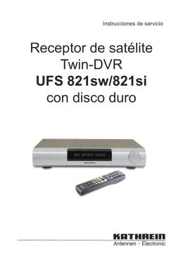 9362861a, Instrucciones de servicio Receptor de satelite Twin