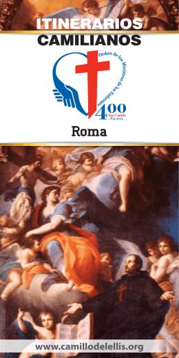 Roma ITINERARIOS CAMILIANOS