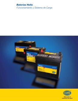 Baterías Hella Funcionamiento y Sistema de Carga