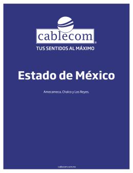 Amecameca - Cablecom