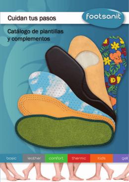 catalogo Footsanit español.indd