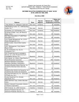 Lista de solicitudes de exoneración del Bono de Navidad 2009