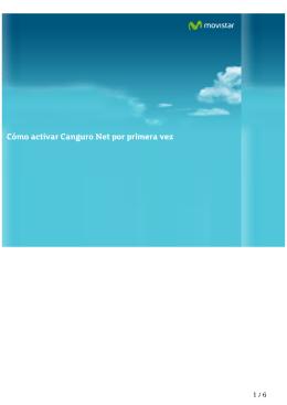 Cómo activar Canguro Net por primera vez