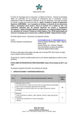 estudio de mercado - Inicio | Contratación SENA