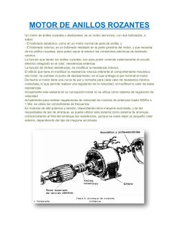 MOTOR DE ANILLOS ROZANTES