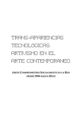 trans-apariencias tecnológicas - Digibug