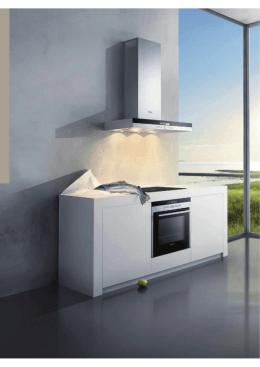 Catálogo de campanas extractoras de cocinas Siemens