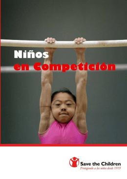 Los niños en competición