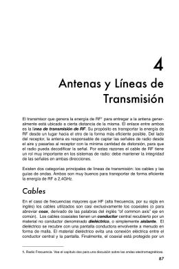Antenas y Líneas de Transmisión