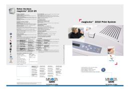 magicolor® 2210 Print System