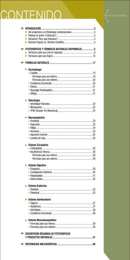 Fitoterapia - Botica Magistral