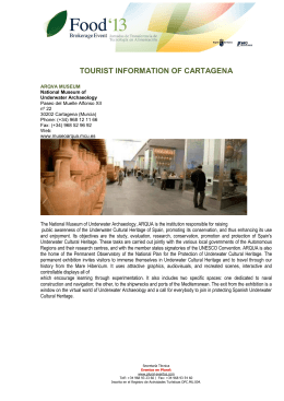 TOURIST INFORMATION OF CARTAGENA